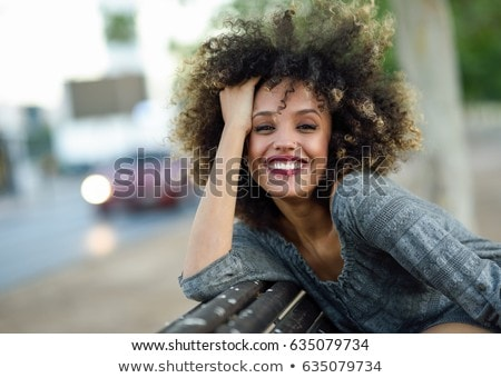 Mulher bonita preto roupa posando parede sensual Foto stock © acidgrey