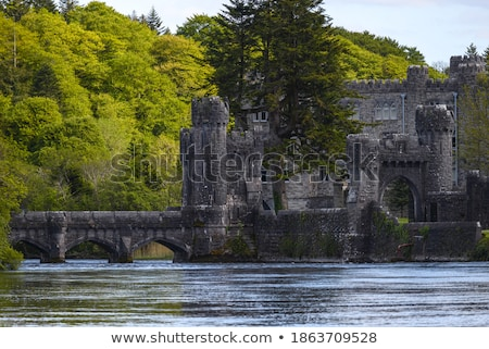 Bridge near Ashford Castle, Ireland Stock photo © borisb17