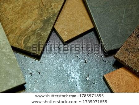 Quadro diferente decorativo azulejos Foto stock © Illia