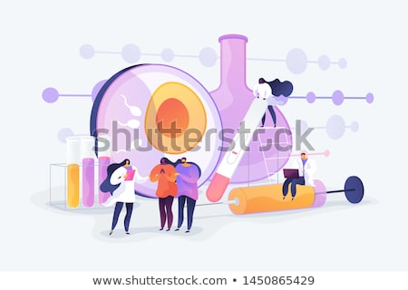 Infertility treatment abstract concept vector illustration. Stock photo © RAStudio