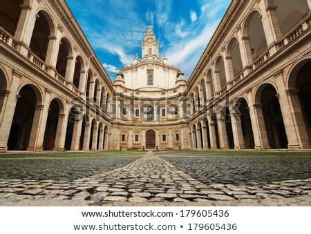 church of saint yves at la sapienza stock photo © prill