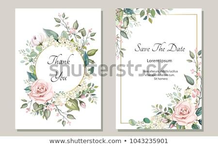 kartkę · z · życzeniami · kwiaty · ogród · tekstury · górę - zdjęcia stock © cosma