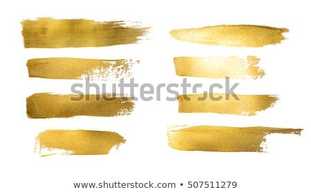 Sarı grunge sıçraması vektör soyut dizayn Stok fotoğraf © burakowski