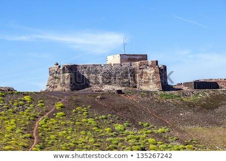 замок канарейка Канарские острова Испания здании Сток-фото © meinzahn