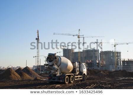 Concrete plant. Russia Stock photo © joyr