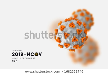 mers cov medical concept on grey background stock photo © tashatuvango