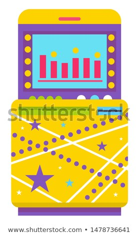 Game Over on Screen of Game Machine Playing Mode Stock photo © robuart