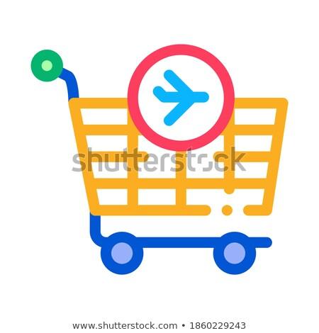 Dever livre produtos ícone vetor Foto stock © pikepicture