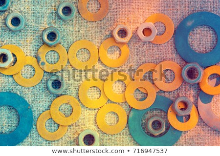 abstract colorful building with grunge Stock photo © pathakdesigner