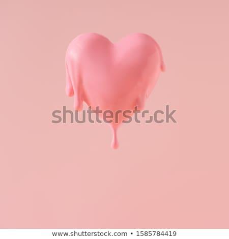 Melting Love Stock photo © vectomart