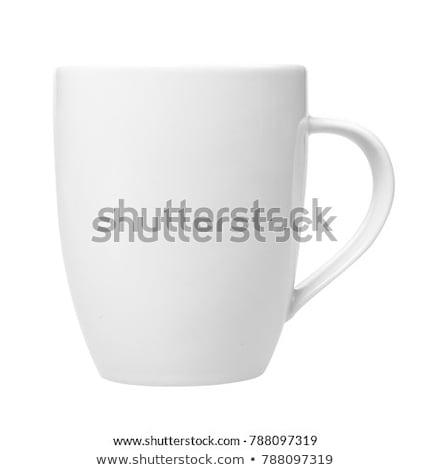 Vuota espresso coppe isolato bianco Foto d'archivio © bmonteny