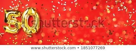 Rosso carta bokeh gradiente texture Foto d'archivio © cammep