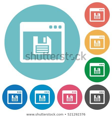 Bolt barna szín vektor ikon szimbólum rajzolt Stock fotó © ahasoft