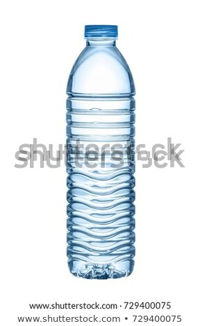 Bottle water isolated on white background with clipping path Stock photo © kayros