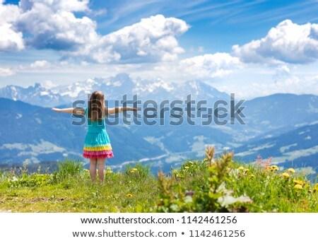 Children walking in rocky landscape Stock photo © IS2
