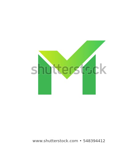 Carta verificar logotipo símbolo forma Foto stock © meisuseno