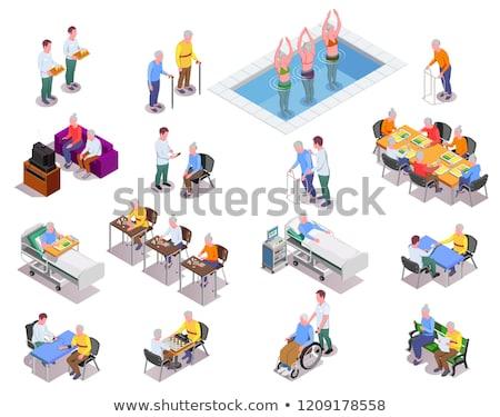 Pensión elementos vector móviles Foto stock © pikepicture