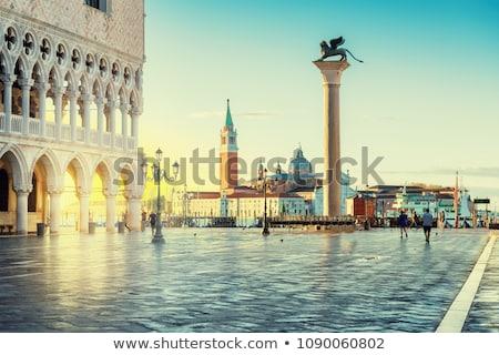日の出 広場 ヴェネツィア イタリア 運河 アーキテクチャ ストックフォト © hsfelix