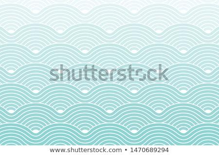 Seamless circle waves pattern Stock photo © sahua