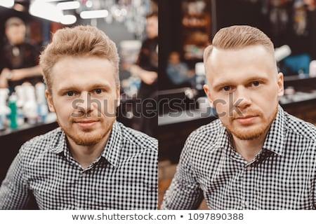 borotválás · férfi · arc · test · háttér · bőr - stock fotó © paha_l