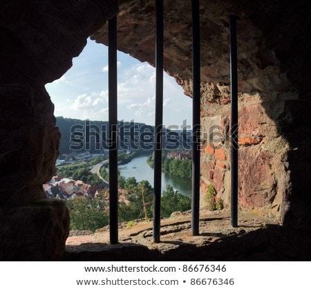 barred window at Wertheim Castle Stock photo © prill