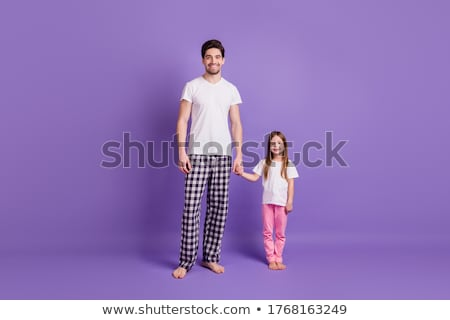 parents with pijamas for child Stock photo © Paha_L