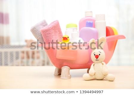 handdoeken · liggen · tabel · gezondheid - stockfoto © taden