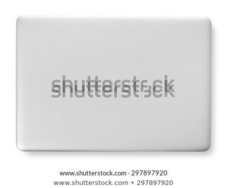 Isolated Closed Laptop ストックフォト © goir