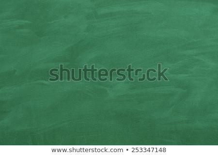 Green Chalk Board Stock photo © adamson