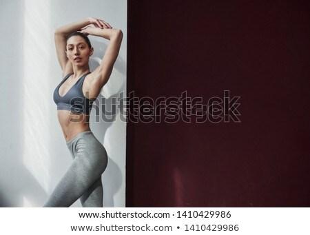 Dame rose chambre femme fille Photo stock © majdansky