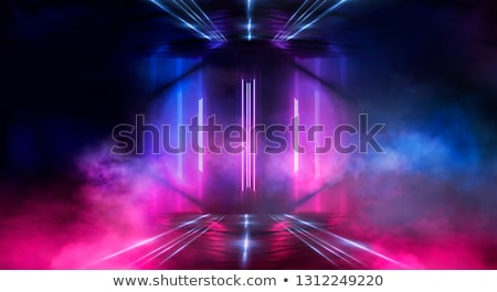etapa · telha · piso · cortinas · vermelho - foto stock © albund
