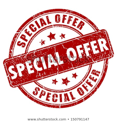 Special Offer and Best Choice Vector Illustration Stock photo © robuart