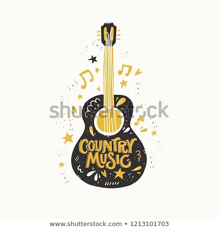 Music hand drawn vector doodles illustration. Musical poster design Stock photo © balabolka