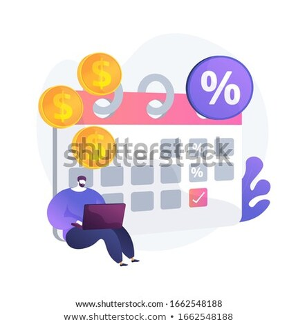 Interest on deposit vector concept metaphor. Stock photo © RAStudio