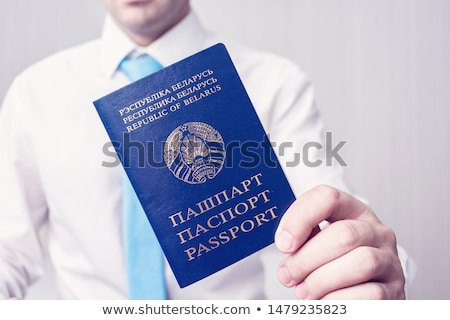 Belarussian passport Stock photo © vankad