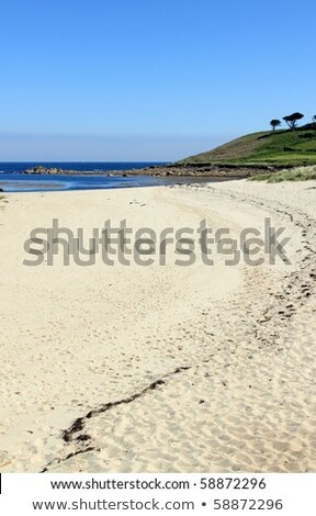 Pelistry beach in St. Mary's, Isles of Scilly Cornwall UK. Stock photo © latent