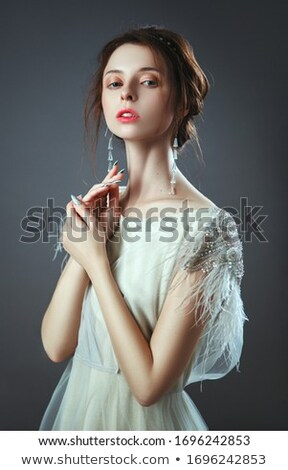 Beauty portrait of fashion lady. Stock photo © NeonShot