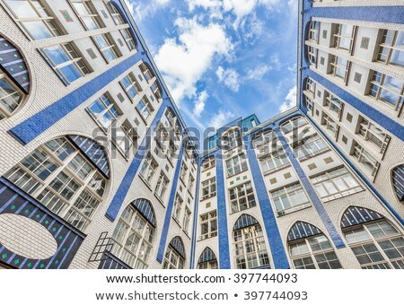 Facades of buildings in Hackescher Markt in Berlin, Germany Stock photo © meinzahn