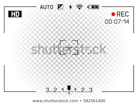 カメラレンズ 暗い ビジネス 抽象的な スペース ストックフォト © zven0