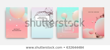 Colorful fluid background. Vector abstract minimalistic design. Stock photo © fresh_5265954