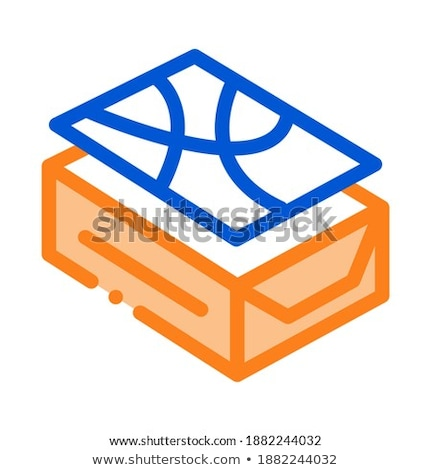 pin down tile icon vector outline illustration Stock photo © pikepicture