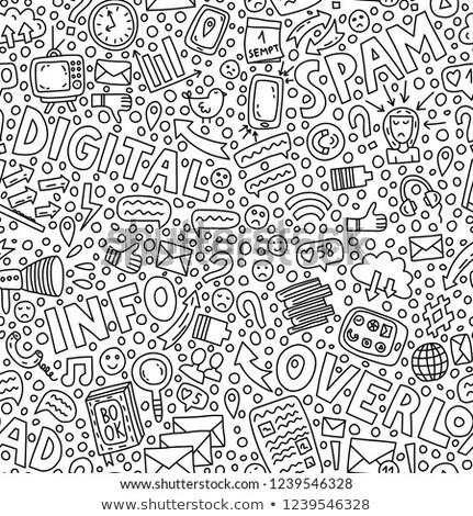 デジタル 過負荷 脱出 ソーシャルメディア ライフスタイル ストックフォト © RAStudio