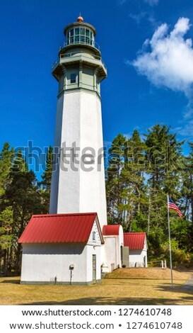 Westport Lighthouse at Westport Washington Stock photo © Frankljr