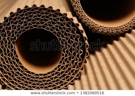 corrugated cardboard Stock photo © Witthaya
