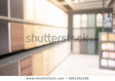 Wooden panels stored inside a warehouse Stock photo © juniart