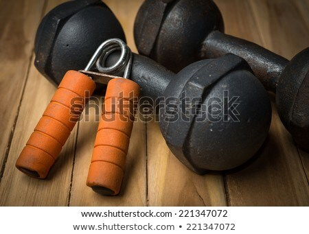 Two hand grippers Stock photo © dezign56