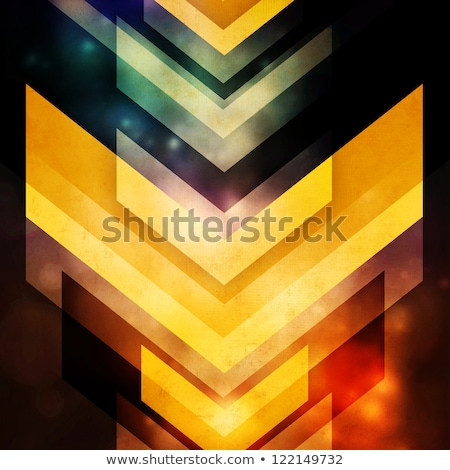Orange motion blur stripes abstract background. Stock photo © latent