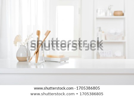 counter with glass Stock photo © dmitroza