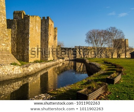 Smederevo fortress in Serbia Stock photo © boggy