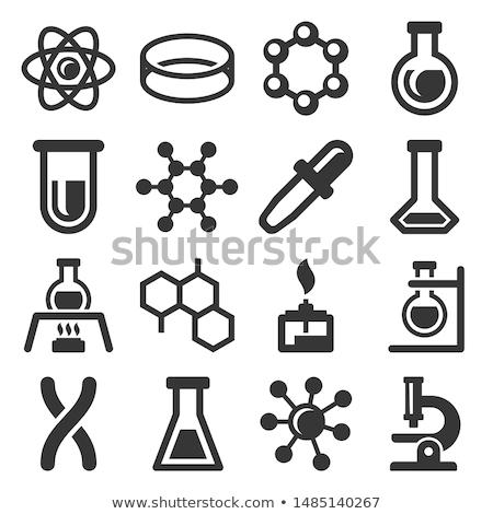 Wetenschap lab onderwijs kleurrijk onderzoek Stockfoto © cienpies